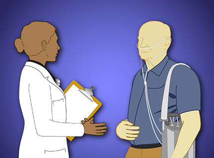 Learn about a variety of topics on COPD through short animations.